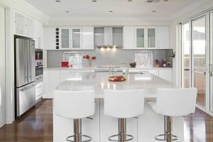 Beautiful modern kitchen, elegent luxury