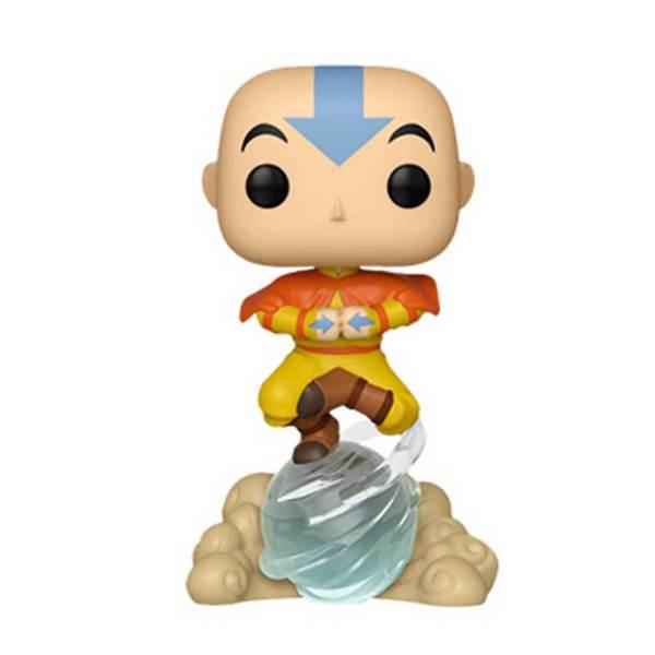 Funko Pop van Aang on Airscooter uit Avatar the Last Airbender 541 Unboxed