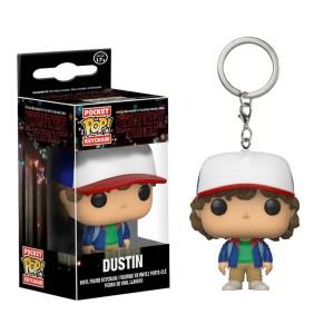 Funko Pocket Pop van Dustin uit Stranger Things