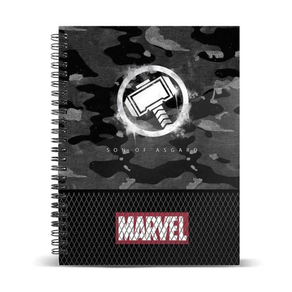 A5 Notitieboek van Marvel Thor Hammer