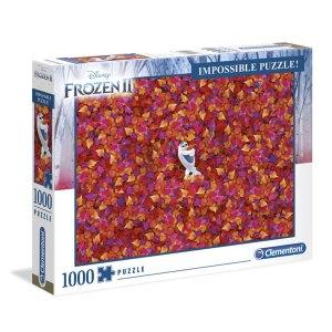 Impossible Puzzel van Olaf uit Frozen 2