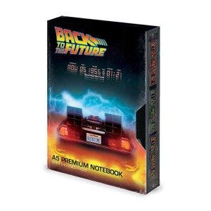 A5 Premium Notitieboek van Back To The Future