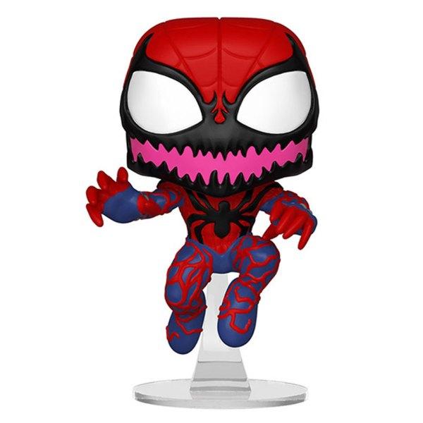 Funko Pop van Spider-Carnage uit Spider-Man Marvel Exclusive 486 Unboxed