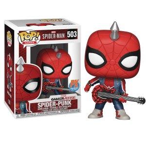 Funko Pop van Spider-Punk uit Marvel Spider-Man 503 PX Previews Exclusive