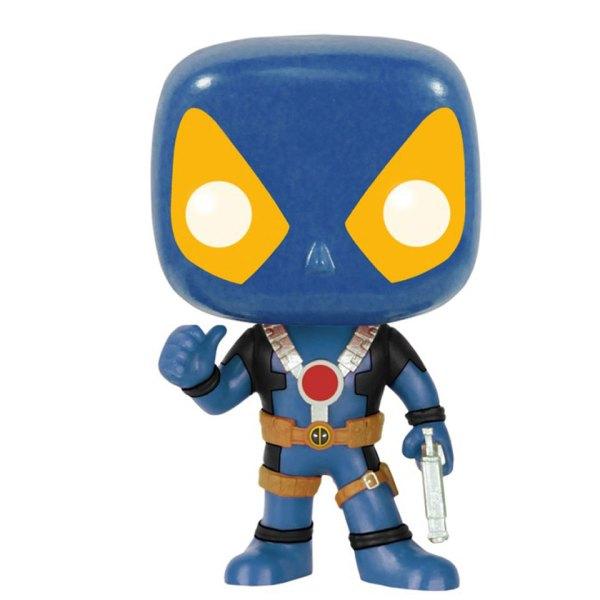 Funko Pop van Deadpool (Blue) van Marvel 112 Unboxed