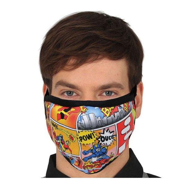 Gezichtsmasker Comic Pow Facemask