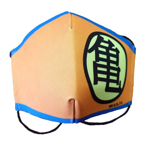 Gezichtsmasker van Dragon Ball (Orange) Facemask