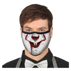 Gezichtsmasker van Pennywise uit IT Facemask