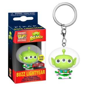 Funko Pocket Pop van Buzz Lightyear uit Alien Remix Exclusive