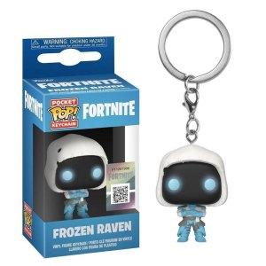 Funko Pocket Pop van Frozen Raven uit Fortnite