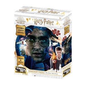 Harry Potter Scratch Off Puzzel met 150 stukjes