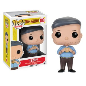 Funko Pop van Teddy uit Bob's Burgers 103