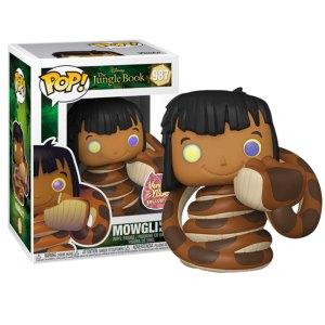 Funko Pop van Mowgli with Kaa uit The Junglebook 987