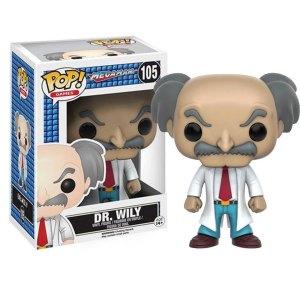 Funko Pop van Dr. Willy uit Megaman 105