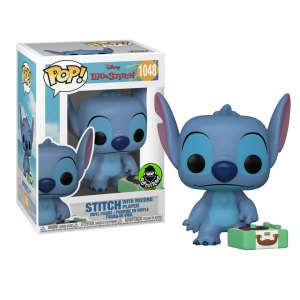 Funko Pop van Stitch with Record Player uit Lilo & Stitch 1048