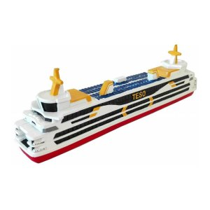 Souvenir van de Teso Boot van Texel