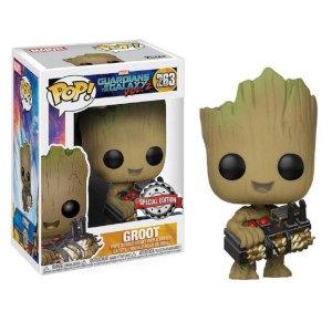 Funko Pop van Groot with Bomb uit Guardians of the Galaxy 263