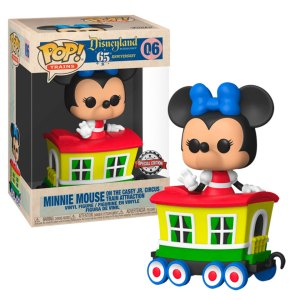 Funko Pop van Minnie Mouse on The Casey Jr. Circus Train Attraction uit Disney 65th Anniversary 06