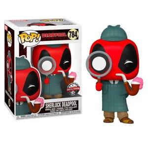 Funko Pop van Sherlock Deadpool uit Marvel 784