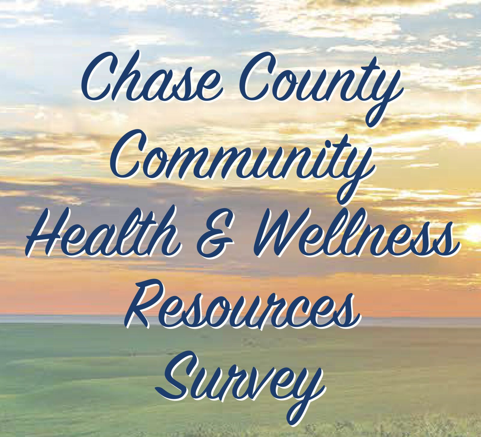 Community Health & Wellness Resources Survey