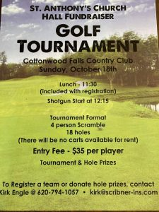 St Anthony's Hall Golf Tournament