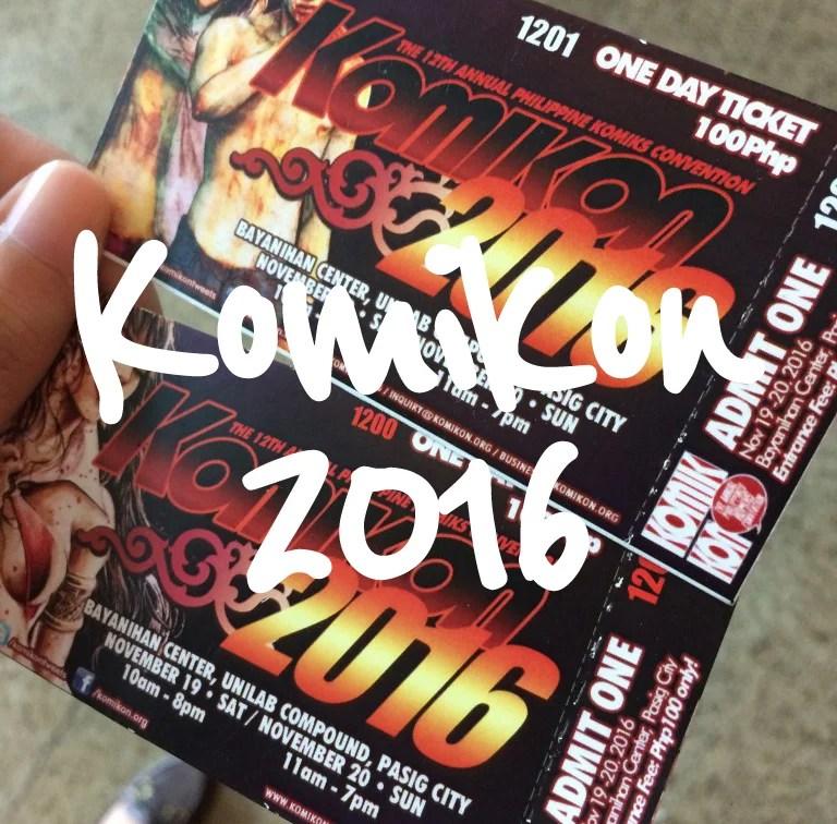 Komikon 2016