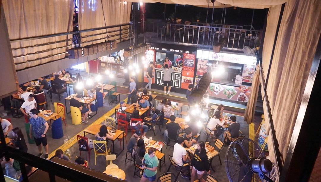 The Food Hive - Visayas Avenue (Food Park Madness)