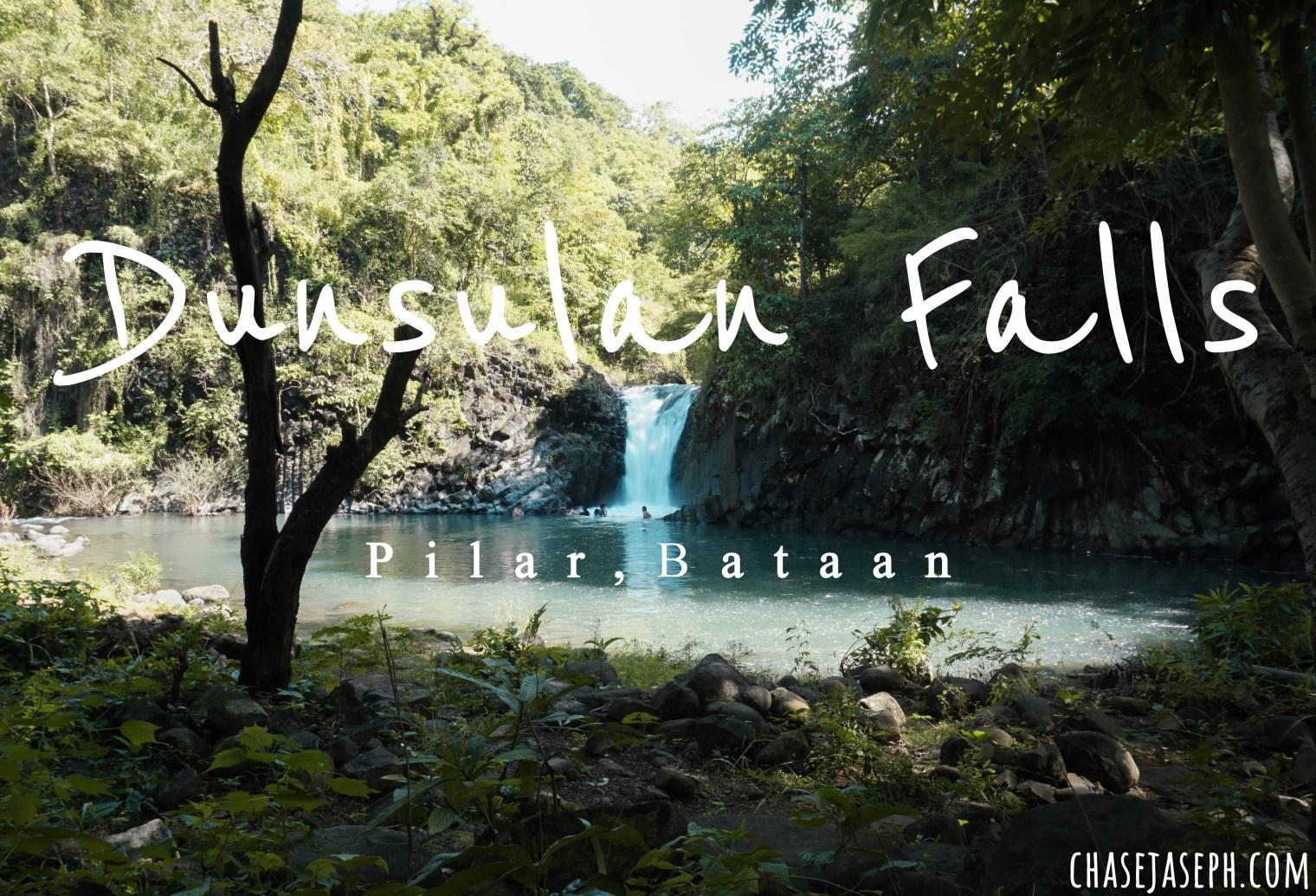 Dunsulan Falls - Pilar, Bataan (Travel Guide)