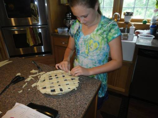 chase's first lattice crust