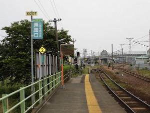 越前花堂駅を知っていますか。 福井市中心街方面を見た景色/どこまでもアマチュア