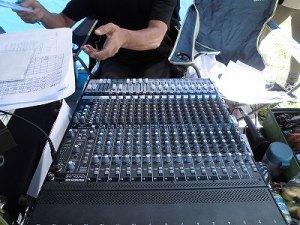 六呂師高原アルプス音楽祭2014 MACKIE ONYX1640/どこまでもアマチュア
