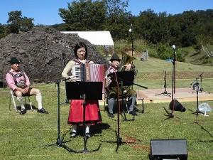 六呂師高原アルプス音楽祭2014 アルプス音楽団ボーカルなしのリハーサル1/どこまでもアマチュア