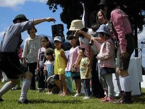 六呂師高原アルプス音楽祭2014 クーグロッケンが鳴るようになってきたお客さん/どこまでもアマチュア