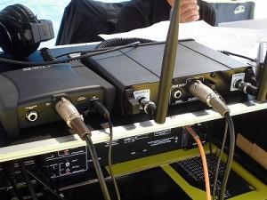 六呂師高原アルプス音楽祭2014 LINE6 XD-V30とXD-V55の裏面/どこまでもアマチュア