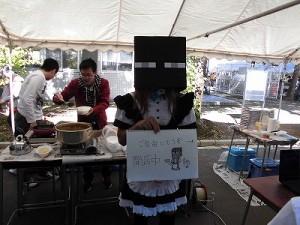 第50回福井高専祭 忙しく働くスタッフ/どこまでもアマチュア