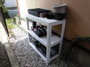 日曜大工日記 家庭菜園用具棚/どこまでもアマチュア