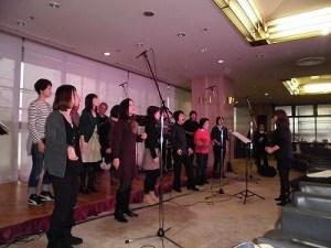 もう最高!クリスマスコンサート2014 in 勝山ニューホテル 熱がこもってきたリハーサル/どこまでもアマチュア