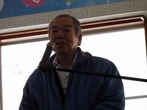 さかだに雪まつり 来賓 県議会議員 山田 庄司氏/どこまでもアマチュア
