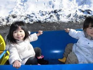 さかだに雪まつり 機関車に乗っていた愛くるしいお客さんたち/どこまでもアマチュア