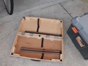 日曜大工自習教室~ズブの素人編~ アウトドア用のテーブルの組み立て工程/どこまでもアマチュア