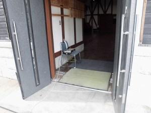 第51回越前大野名水マラソン 平成大野屋「平蔵(ひらぐら)」の入口/どこまでもアマチュア