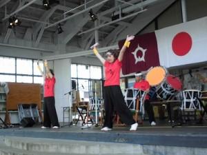 第51回越前大野名水マラソン 地元和太鼓グループ「祥雲」/どこまでもアマチュア