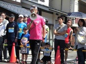 第51回越前大野名水マラソン 独演会を始めたゲストランナー 森脇 健児氏/どこまでもアマチュア