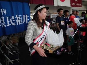 第51回越前大野名水マラソン 前大野ふるさと大使の杉本亜依さん/どこまでもアマチュア