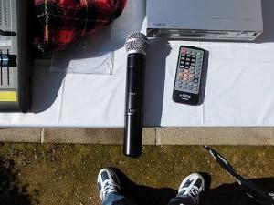 第30回大野市福祉ふれあいまつり LINE6 XD-V30 Handheld/どこまでもアマチュア