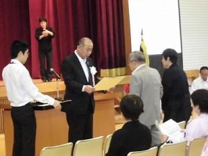 第30回大野市福祉ふれあいまつり 大野市長表彰授与/どこまでもアマチュア