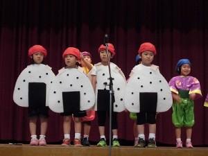 第30回大野市福祉ふれあいまつり 誓念寺保育園園児によるオペレッタ「おむすびころりん」/どこまでもアマチュア