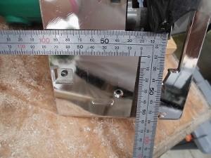 日曜大工自習教室~下手の横好き編~ 丸のこの刃までの寸法計測/どこまでもアマチュア