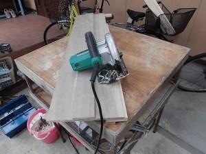 日曜大工自習教室~下手の横好き編~ 丸のこガイドで丸のこを使用/どこまでもアマチュア