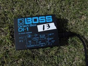 六呂師高原アルプス音楽祭2015 BOSS DI-1/どこまでもアマチュア